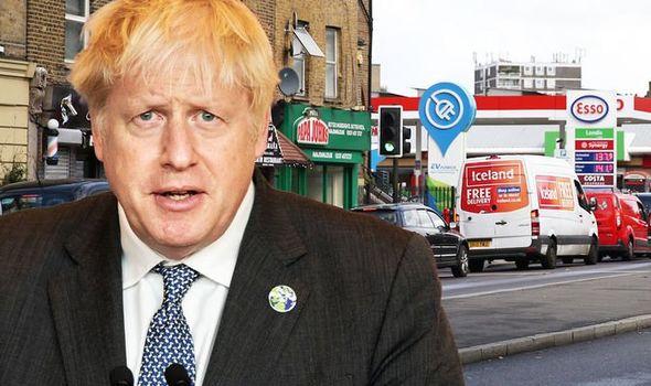 boris johnson üzemanyag válság UK