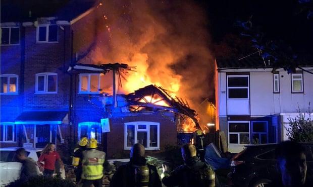 Két ház is felrobbant Londonban: a szakértők gázrobbanásra gyanakszanak 1