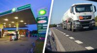 Anglia kamionsofőr munka