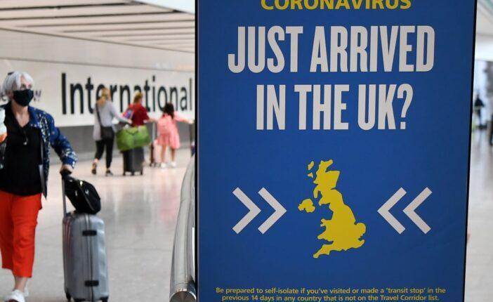 Haza tudunk utazni karácsonyra? - Új lehetőség a karantén hosszának csökkentésére Angliában 1