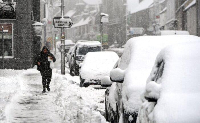 Hatalmas havazás Nagy-Britannia számos területén (képekkel) 1