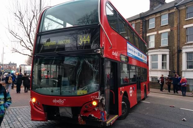Clapham bus crash 3 - credit @CityJohn