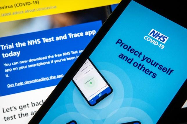 koronavírus mobil app