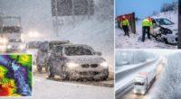 Az első komolyabb hóesés idén Nagy-Britanniában: több helyen 10-20 cm hó esett le hétfő reggelre 2