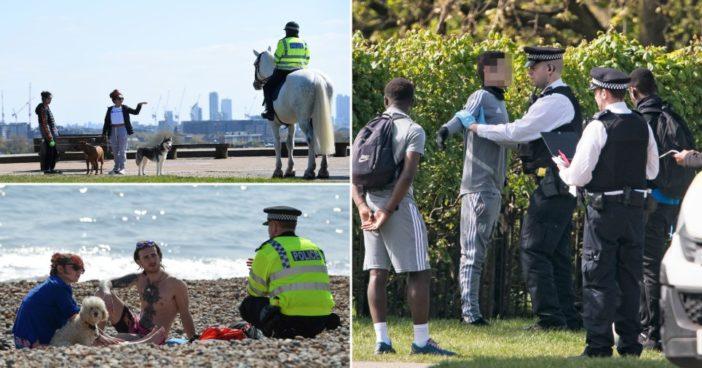 2 hét alatt több, mint 3000 embert büntettek meg a rendőrök Angliában a korlátozás megszegése miatt 1