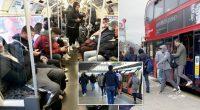 A koronavírus ellenére újra tömeg a buszokon és metrókon Londonban 2