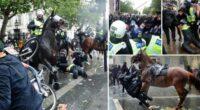 black lives matter tüntetés london