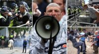 Újabb komoly összecsapás a rendőrök és a tüntetők közt London belvárosában 2