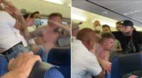 Komoly verekedés tört ki egy repülőjáraton, miután 2 brit férfi nem volt hajlandó felvenni a maszkot 2