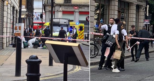 Fényes nappal, a járókelők szeme előtt szúrtak le egy tinédzsert Londonban az Oxford streeten 1