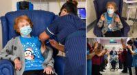 Elkezdődött: egy angliai 90 éves nő az első a világon, aki megkapta a Pfizer vakcinát 2