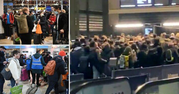 Tömegesen próbáltak meg lelépni Londonból az emberek az új korlátozások miatt 1