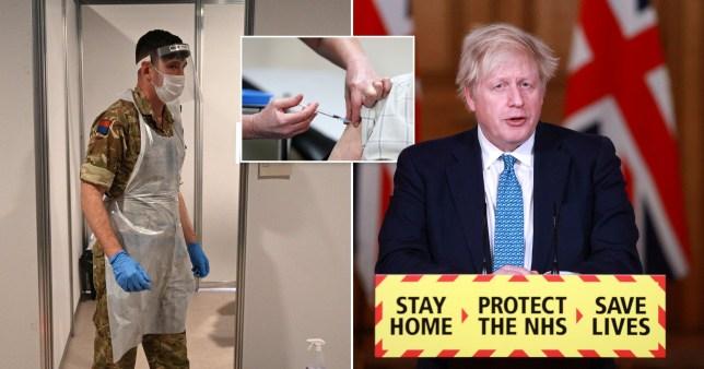 A katonaság bevetésére készül a brit kormány az oltási program megvalósításához 1