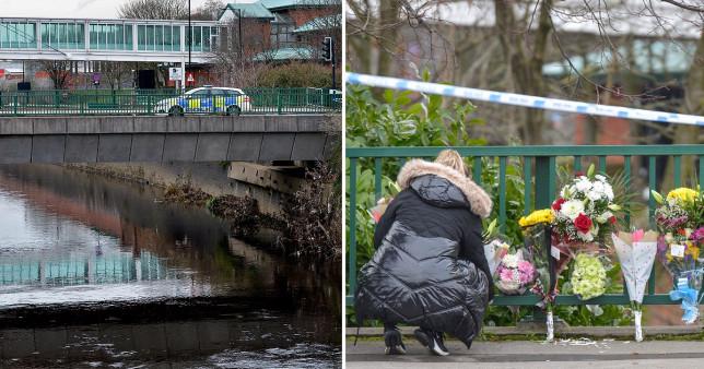 Hídról zuhant a folyóba autóval két fiatal Angliában, Sheffieldben 7