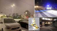 Újabb nagy havazás jön Londonban és Anglia más részein, néhol 20-30 centi is eshet 2