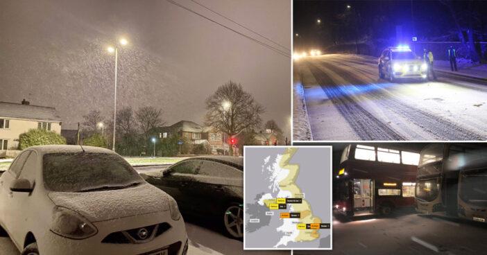 Újabb nagy havazás jön Londonban és Anglia más részein, néhol 20-30 centi is eshet 1