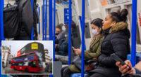 Emberek ezrei csak azért sem viselik a maszkot Londonban a tömegközlekedésen 2