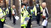 Bilincsben vezettek el egy nőt Londonban, mert túl messzire ment kávét venni 2