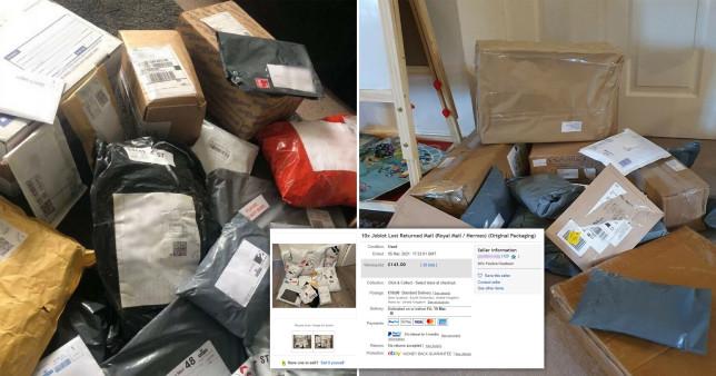 """Az emberek """"eltűnt"""", meg nem érkezett, vagy visszaküldött csomagjait árulják eBayen Nagy-Britanniában 1"""