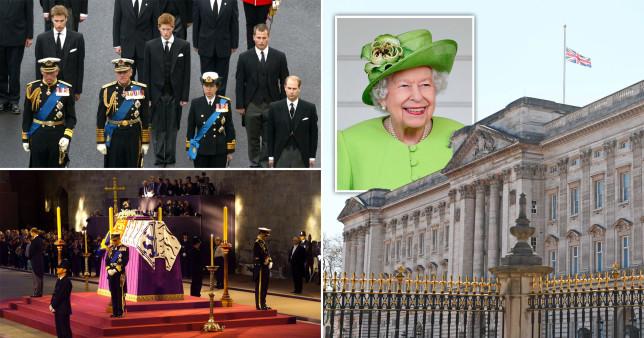 királynő Erzsébet halála
