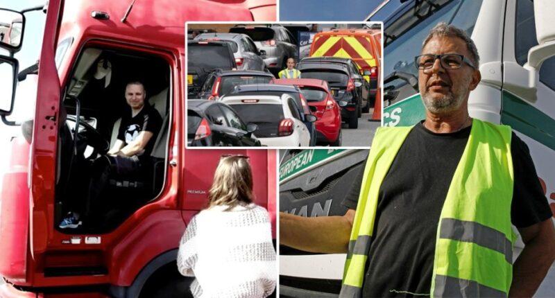 teherautó sofőr üzemanyag válság