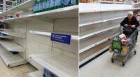 """Pánikvásárlás UK: egyre több termék hiányzik a polcokról, és sokan már most karácsonyra """"pánikvásárolnak"""" 1"""