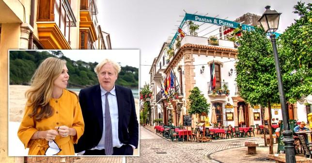 Boris Johnson lelépett Spanyolországba nyaralni az egész Nagy-Britanniát érintő krízis kellős közepén 3