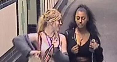 Borosüveget zúzott szét két lány a londoni metró egyik utasának fején, mert: Bámulta őket 6