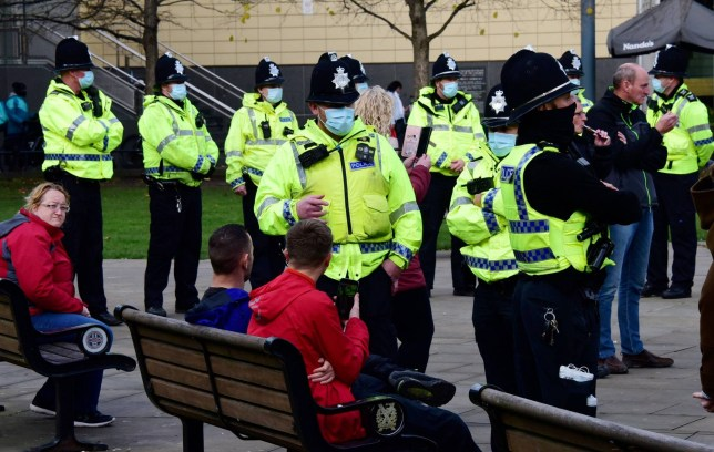 lockdown Anglia koronavírus