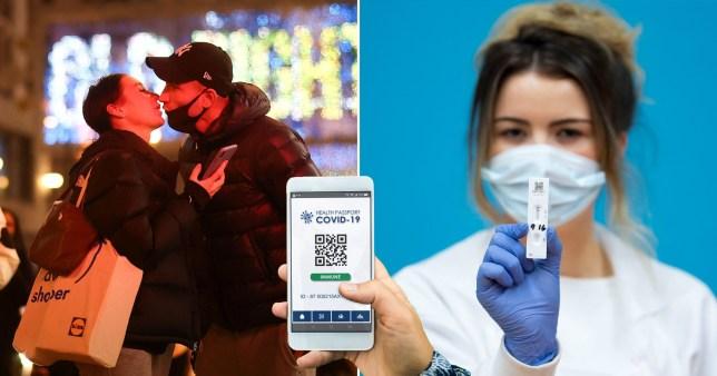 """A koronavírus korlátozások alól """"mentességet nyújtó igazolás"""" bevezetését tervezi a brit kormány 1"""