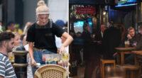 Tömegesen foglalnak az emberek a pubokban Angliaszerte az újranyitáshoz közeledve 2