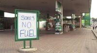 üzemanyag válság uk