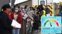 Újra 1 fölé emelkedett az R szám értéke Angliában: emelkedik a fertőzöttek száma 2
