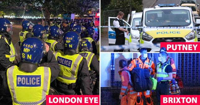 6 embert meglőttek, és egy alig 13 éves gyereket megkéseltek Londonban 1