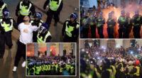 Hatalmas balhé az EB döntő előtt és után Londonban: 49 letartóztatott és 19 rendőr sérült meg 2