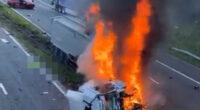 Hatalmas tömegkarambol Angliában az A1-esen: többen meghaltak 2