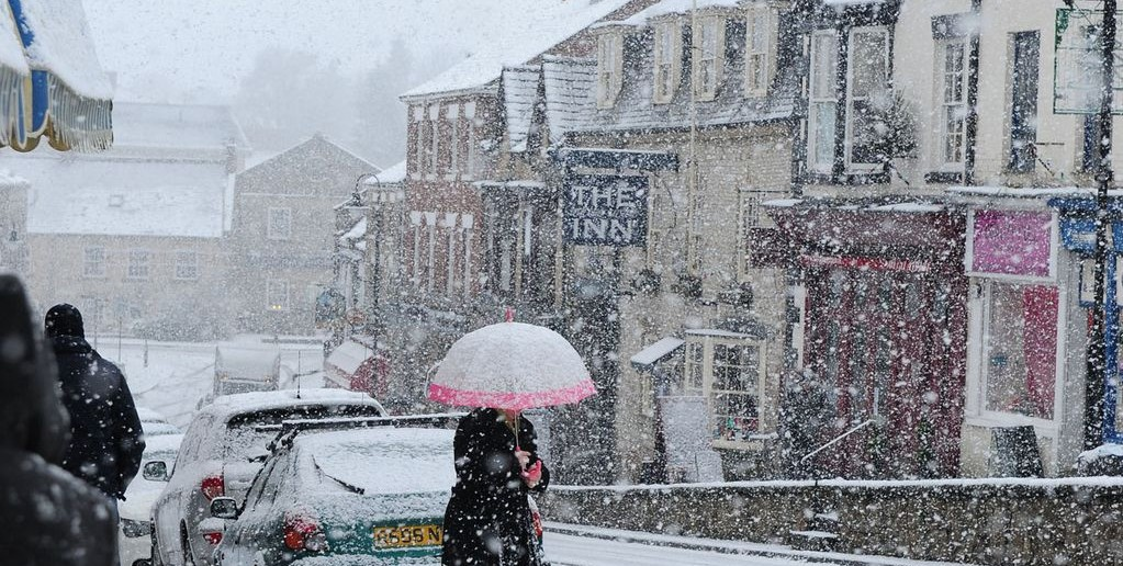 Snow in North Yorkshire