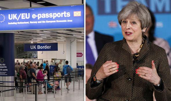 nettó bevándorlás Anglia