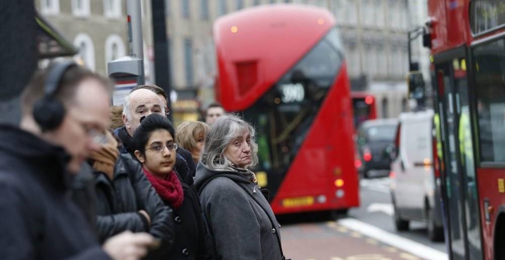 busz sztrájk London