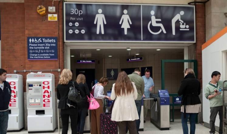 Több millió fontot keresnek évente az angliai fizetős WC-kkel 1