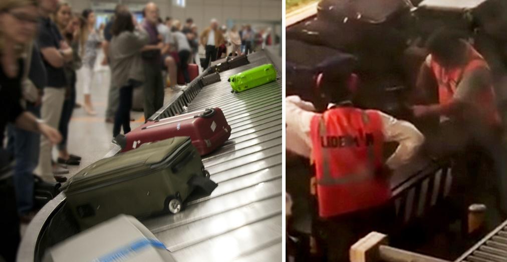 Így lopnak a poggyászainkból a repülőtereken az alkalmazottak (Levideózták!)  1