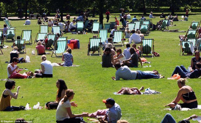 Végre megérkezik jó idő a héten Angliába: 25C is lesz Londonban és környékén 1