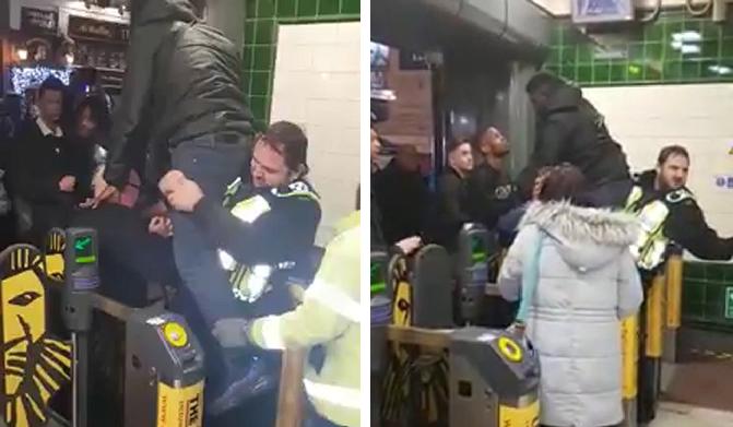 Péniszénél fogva akadt a metró beléptető kapujába egy srác Londonban (persze hogy levideózták) 1