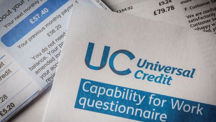 universal credit Anglia