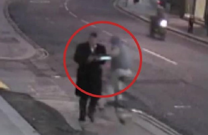 biciklis tolvaj Londonban