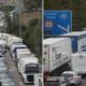 Hatalmas káosz a Csalagútnál Angliában: Rengetegen a kocsijukban éjszakáztak 12