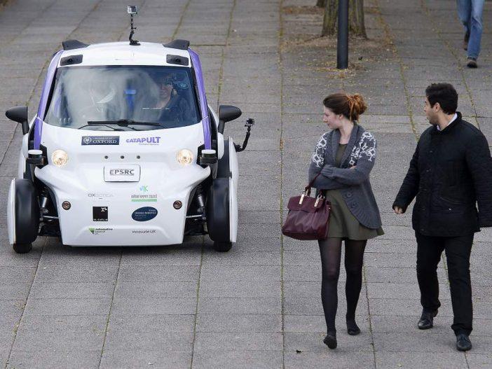 Hamarosan sofőr nélküli taxikkal is közlekedhetünk Londonban 2