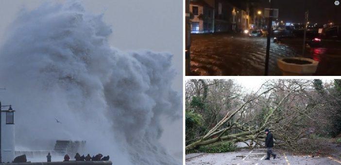 Az Eleanor vihar elérte Nagy-Britanniát 110 km/h erejű széllökésekkel: országszerte károkat okoz 1