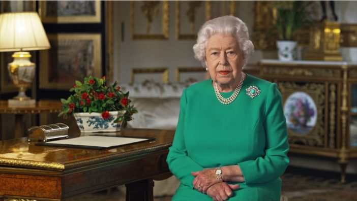 angol királynő koronavírus