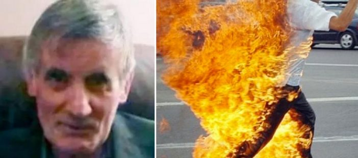 Az utcán, a járókelők szeme láttára gyulladt ki és égett halálra egy férfi Londonban 1